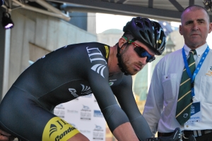 JLT Condor rider Felix English ready to give it Bigpowa on the course.