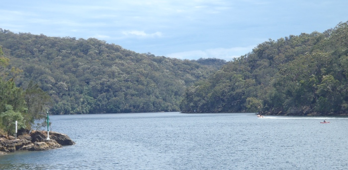 Hawkesbury Estuary, New South Wales, Australia.