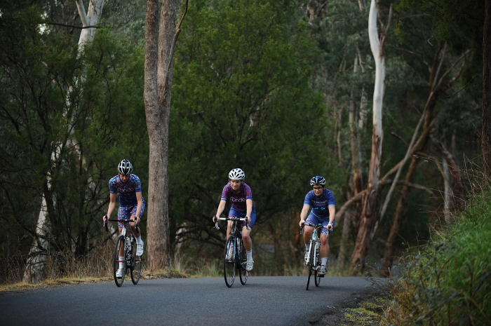 Fondo supports women's riding at all levels, from sponsoring women's racing to hosting a monthly women ride in Melbourne, Australia.