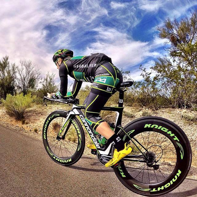 Knight Composite wheels are used extensively by  triathletes and cyclists.